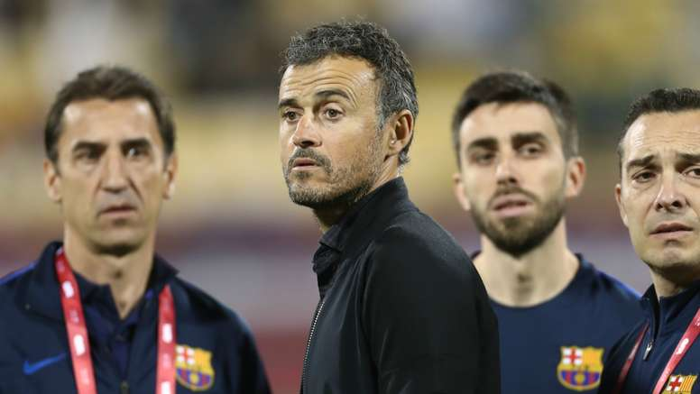 Luis Enrique is hoping for an improvement from his side. Goal