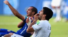 Suárez relembra mordida na Copa. Goal