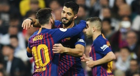 Valverde wowed by Real Madrid nemesis Suarez.