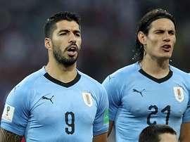 Uruguai vem com Com Suárez e Cavani. Goal