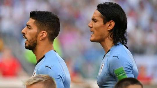 Le groupe de l'Uruguay. Goal