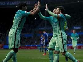 MSN devolveu o orgulho ao Barcelona. Goal