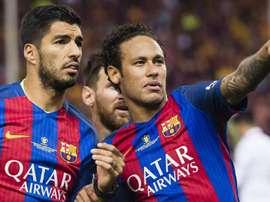 Suárez croit en un retour de Neymar. GOAL