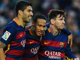 Messi reveals WhatsApp group with 'phenomenon' Neymar and Suarez. Goal