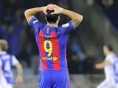 Luis Suarez Real Sociedad Barcelona La Liga 27112016