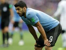Suárez não conseguiu decidir. Goal