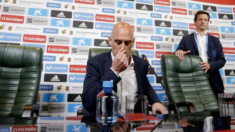 Rubiales announced Lopetegui's departure on Wednesday. GOAL