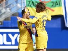 Barca all-stars steal the show in Eibar win. GOAL