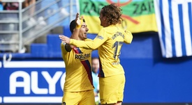 Barca all-stars steal the show in Eibar win. GOAL