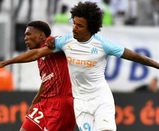 Luiz Gustavo a marqué face à Nîmes. Goal