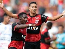 O 'Fla' superou a Portuguesa na Copinha. GOAL