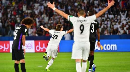 Luka Modric Al Ain Real Madrid. Goal
