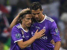 Modric laid out his loyalty to Ronaldo. GOAL
