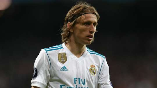 Modric is wanted by Inter. GOAL