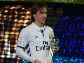 Luka Modric during an event. Goal