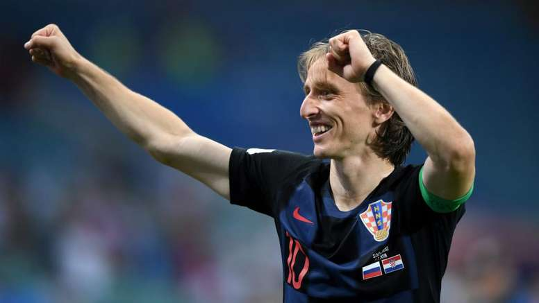 Modric has battled his way to the top of world football. GOAL