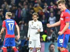 O Real foi surpreendido pelos russos do CSKA. Goal
