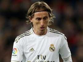 Como Modric foi de melhor do mundo a descartável no Real Madrid. EFE