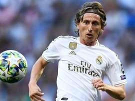 Il centrocampista croato del real Modric. Goal