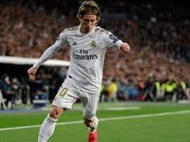 Luka Modric decidirá seu destino no Real Madrid. AFP