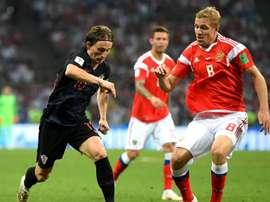Modric et sa bande rejoignent les demi-finales du Mondial. Goal