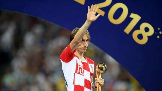 Dalic says Modric deserved his award. GOAL