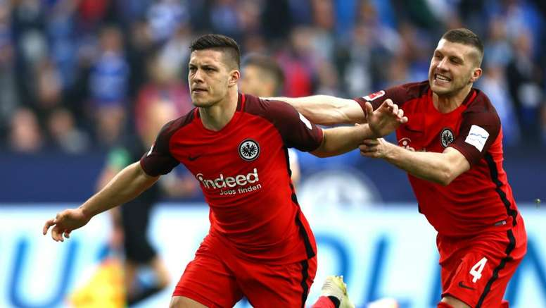 Luka Jovic and Ante Rebic may both be on their way out of Frankfurt. GOAL
