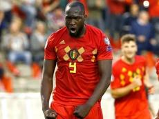 Martinez pays tribute to Lukaku after Scotland win. Goal