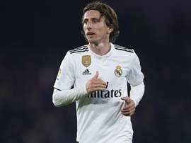 Luka Modric is out of Madrid's squad. GOAL