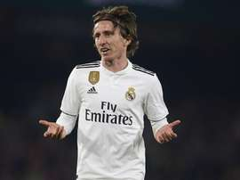 Modric had been linked with an Inter move this transfer window. GOAL
