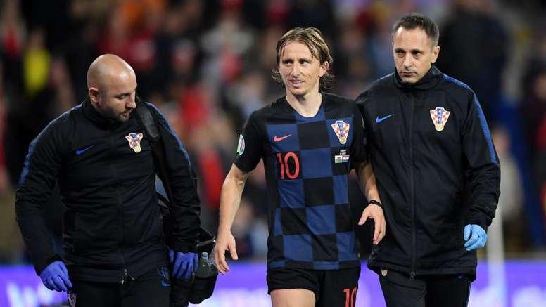 Dalic hopeful of swift Modric recovery