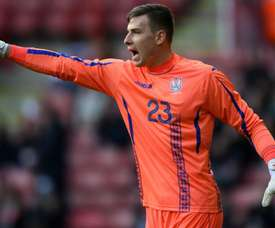 Madrid's Lunin heads to Oviedo. GOAL