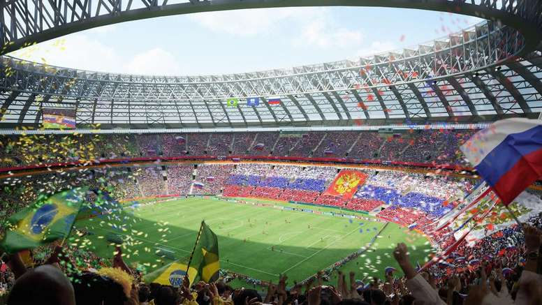 Os principais estádios das finais das Copas do Mundo. Goal
