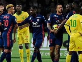 Nantes-Lyon 2-1 - Nantes enfonce l'OL grâce à un bijou de Limbombe