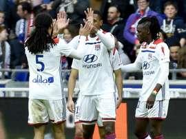 Lyon gagne. Goal