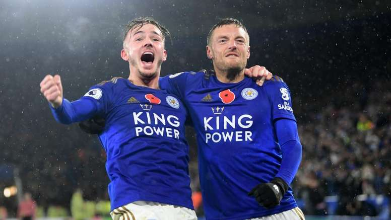 Maddison and Vardy can help Leicester remain second with win over Everton on Sunday. GOAL