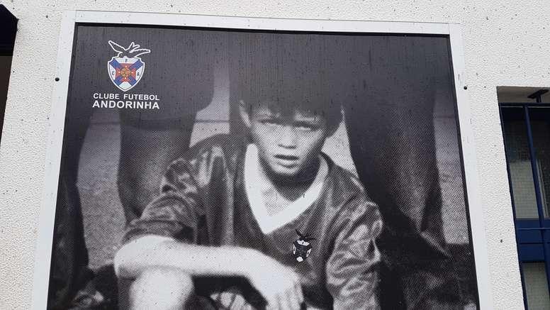 Madeira Andorinha, Cristiano Ronaldo's first club. Goal