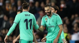 Zidane salutes Real Madrid's mentality after late equaliser. AFP
