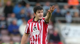 Maguire delighted for Sheff United. GOAL