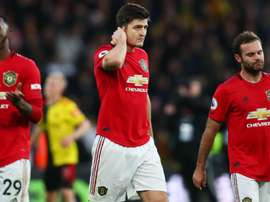 Maguire cannot understand why United are struggling against bottom half sides. GOAL