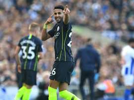 Unlikely hero Mahrez happy to play waiting game at City