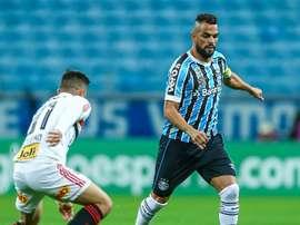 Maicon Gremio Sao Paulo Brasileirao Serie A. Goal