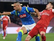 Napoli, infortunio Maksimovic: distrazione al bicipite femorale. Goal