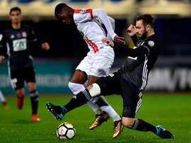 Dembélé, joueur de Nancy. Goal