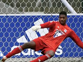Barcola est international avec le Togo. Goal