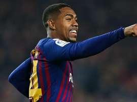 Clasico star Malcom denies feeling pressure at Barcelona.
