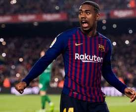 Malcom segue insistindo em seguir no Barcelona, apesar do interesse do futebol chinês
