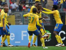 Mamelodi Sundowns are on course for a CAF Champions League semi-final berth. GOAL