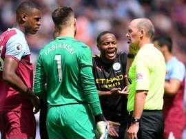 Gabriel Jesus' goal was ruled offside by VAR. GOAL