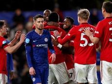 Coup de Blues pour Chelsea face à United. Goal